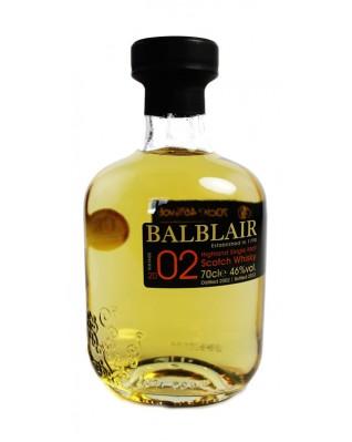 Balblair, Distillery Bottled
