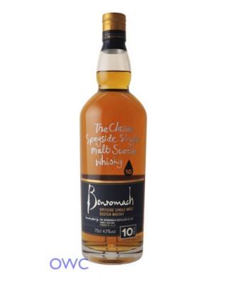 Benromach 10 Year Old, Distillery Bottled