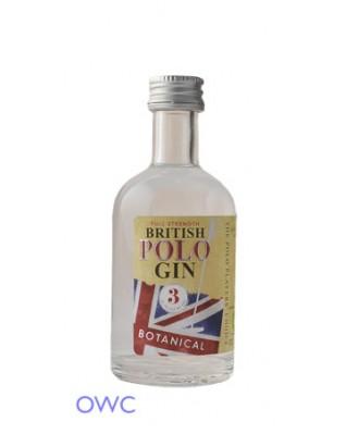 British Polo Gin No.3 Botanical - Miniature