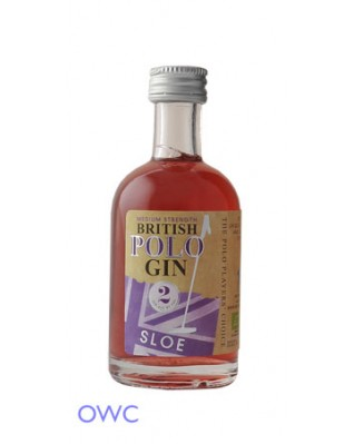 British Polo Sloe Gin - Miniature