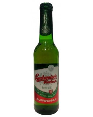 Case of 24 x 	Budweiser Budvar Non Alcohol