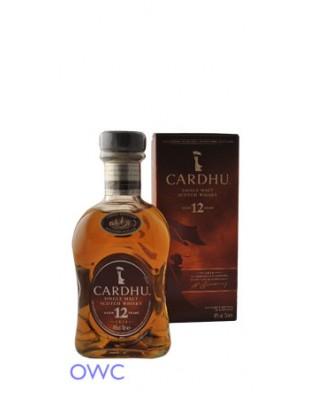 Cardhu 12 Year Old, Distillery Bottled