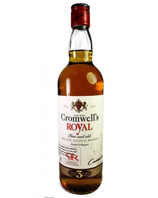 Cromwell's Royal Fine and Old Whisky