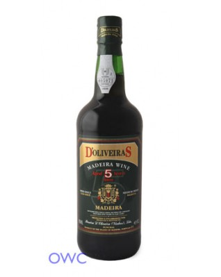 D'Oliveiras Madeira, 5 Year Old Medium-Sweet