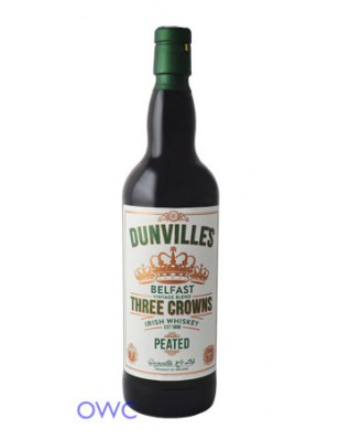 Dunville's Peated Three Crown Irish Whiskey