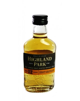 Highland Park 12 Year Old - Miniature