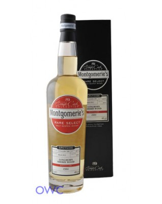 Longmorn Sherry Wood 28 Year Old - Montgomerie's Single Cask Selection