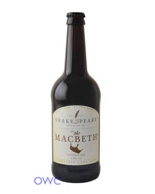 Case of 12 x Macbeth Brown Ale, Shakespeare Brewing Co.