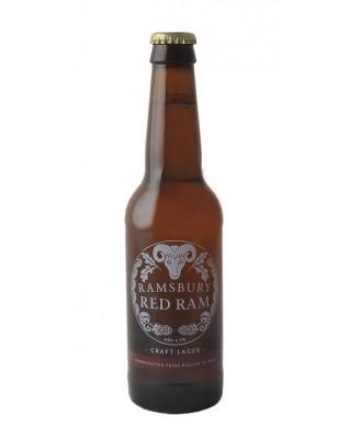 Case of 24 x Ramsbury Red Ram Lager, Ramsbury Brewery