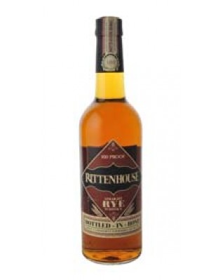 Rittenhouse Straight Rye, Bottled in Bond