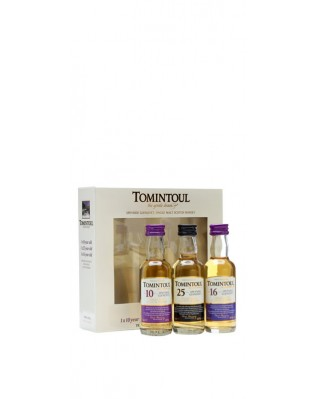 Tomintoul Tri Pack