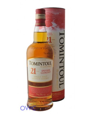 Tomintoul 21 Year Old, Distillery Bottled
