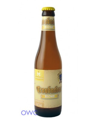 Case of 12 x Troubadour Belgian Blonde